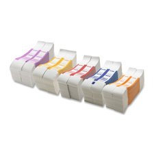 Bill Strap, 2000, 1000/BX, White/Violet, Sold as 1 Box, 1000 Each per Box