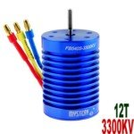 Mystery 12T 3300KV Brushless Motor for 1:10/1:12 Scale Electromotion SUV/RV Car(Blue)