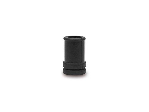 Blink- + Abblendschalter Kabeldurchf/ührung lang mit Knickschutz gerade schwarz IWL*** Gummi