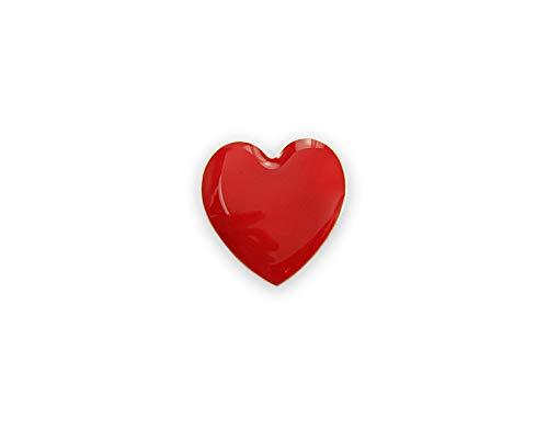 (Red Heart Awareness Small Red Heart Pins (25 Pins Individually Bagged))