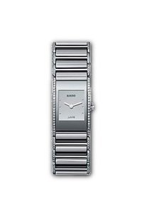 Rado R20733122 Integral Ladies Watch - Silver Dial Ceramic Quartz Movement