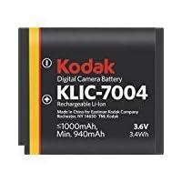 Batería recargable de iones de litio Kodak /KLIC 7004