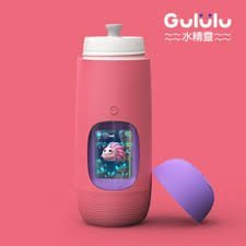 b4eb8140dd Pink) Gululu The Interactive Water Bottle & Health Tracker For Kids ...