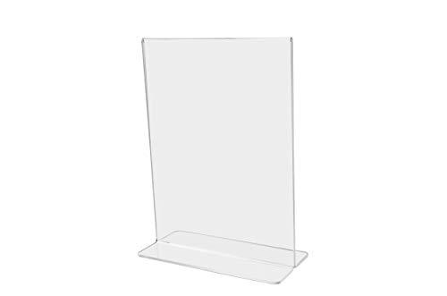 - Marketing Holders Bottom Loading Flyer Frame Paper Holder Printed Material Literature Display Advertisement Holder 11
