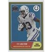 T.Y. Hilton #33/150 (Football Card) 2015 Topps - 60th Anniversary - Road to Victory Gold #T60-TH