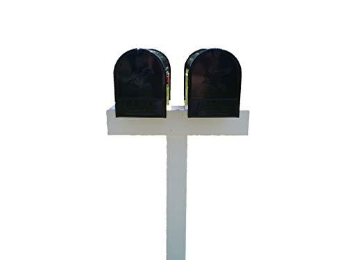 (Handy Post 2, 42-in x 26-in White Vinyl Mailbox Post Sleeve)