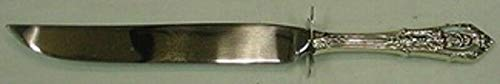 (Rose Point by Wallace Sterling Silver Steak Carving Knife)