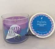 Bath & Body Works Candle 3 Wick 14.5 Ounce Poptails 2015 Sangria Berry Freeze
