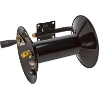 Ironton Air Hose Reel with Hand Brake - Holds 3/8in. x 100ft. Hose