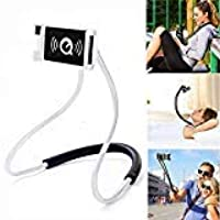 Mira's Neck Lazy + Mobile Holder - Cell Phone Holder Mobile Phone Stand, Lazy Bracket, DIY Free Rotating Mounts for Indoor, Outdoor, Home, Kitchen,Office,Car, Bike