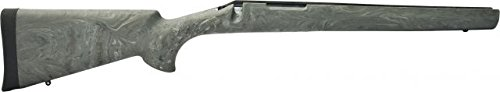 (Hogue 70812 Remington 700 BDL Short Action OverMolded Stock, Heavy Barrel, Full Bed Block Ghillie Green)