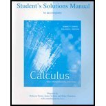 Student's Solutions Manual to accompany Calculus, Multivariable : Early Transcendental Functions, Smith, Robert T. and Minton, Roland B., 0072869674