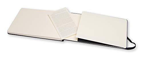 "Moleskine Art Watercolor Album, Hard Cover, Large (5"" x 8.25"") Plain/Blank, Black"