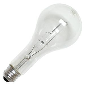 Philips Lighting 133918 PS-25 Standard Life Incandescent Lamp 300 Watt E26 Medium Base 6280 Lumens White 120v Ps25 Light Bulb