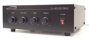 - 30W Contractor Series PA Amplifier UL