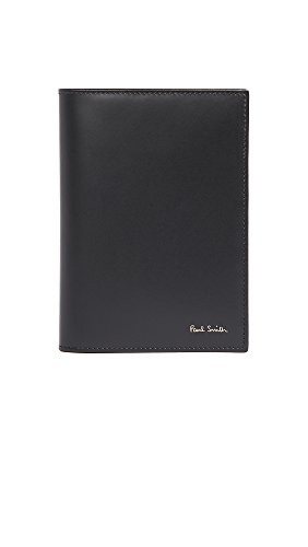 Paul Smith Men's Interior Multistripe Passport Holder, Black, One Size by Paul Smith