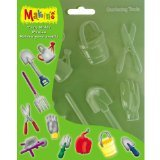 Makin's USA M390-12 Clay Push Mold Gardening Tools