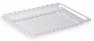 Clear Plastic Serving Platter 18″ x 12″, Health Care Stuffs