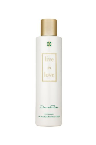 Oscar de la Renta Live In Love Body Wash, 6.8 fl. oz. (Oscar Shower Gel)