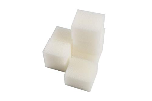 LTWHOME Compatible Foam Filters Non Suitable for Fluval Edge Filter (Pack of 6) ()