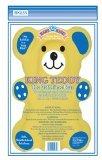 Baby King Baby Bathing Bear Bath Sponge, Yellow