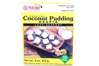 Haupia (Hawaiian Coconut Pudding) - 4oz [Pack of 6]