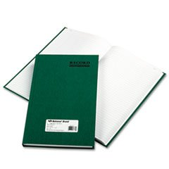 * Emerald Series Account Book, Green Cover, 300 Pages, 12 1/4 x 7 1/4