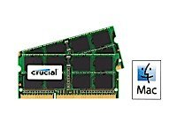 8GB Kit (4GBx2) Upgrade for a Apple MacBook Pro (13-inch, Mid 2009) System (DDR3 PC3-8500, NON-ECC, )
