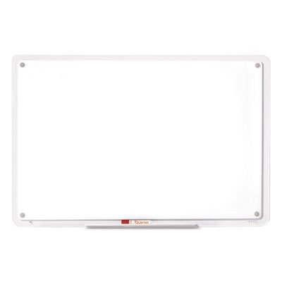 IQTotal Erase Board, 49 x 32, White, Clear Frame, Sold as 1 Each by Quartet