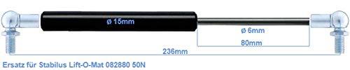 Ersatz f/ür Stabilus Lift-O-Mat 082880 50N