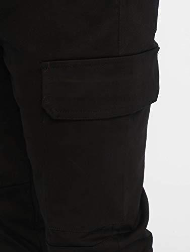 Cargo Cordons June Sixth Pantalon Noir SXnaw1Sx8q