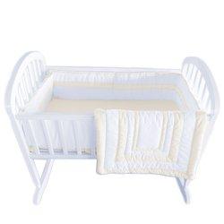 Babykidsbargains Double Hotel Cradle Bedding, Ecru, 15 x 33 009243118381