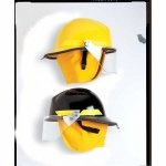 Bullard Firedome FX Series Fire Helmet, Fiberglass, Red