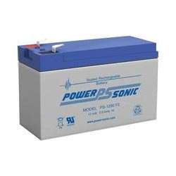 Power-Sonic PS-1290 12 Volt 9 Amp Hour Rechargeable SLA Battery (F2 Terminals) by Powersonic