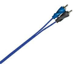 Tsunami RCA7003, RCA Cable (Male to Male), Color: blue, Length: 3ft (0.90m)