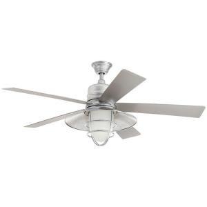 Grayton 54 in. Indoor/Outdoor Galvanized Ceiling Fan