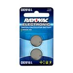 Rayovac 2-pk. CR2016 Button-Cell Lithium Batteries