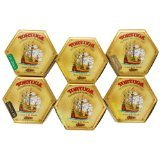 Tortuga Caribbean Six-pack Mix, 4-ounce Cake (3 Pack of 6)