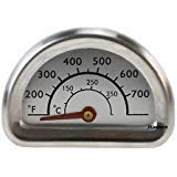 Bar.B.Q.S 00473 Stainless Steel Heat Indicator Replacement for Select Charbroil and Kenmore Gas