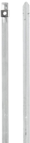BAND-IT AS2119 304 Stainless Steel Cable Tie, 1/4'' Width, 10'' Length, 2'' Maximum Diameter, Bag of 100 by Band-It (Image #1)