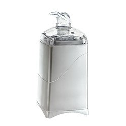 Whisper Premium Silent Misting Diffuser (Silver) by Aroma ready