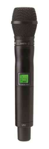 - Shure UR2/SM87 with SM87A Supercardioid Microphone, H4