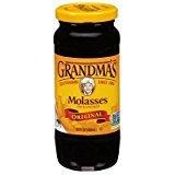 Grandma's Original Unsulphured Molasses All Natural 12oz Jar (Pack of 3)