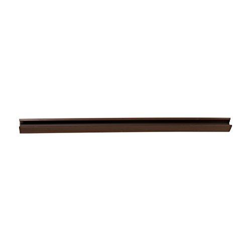 Duck Brand 284432 Slide-On Triple Draft Door Seal, Brown, 1.75-Inch x 36-Inch, 1-Pack