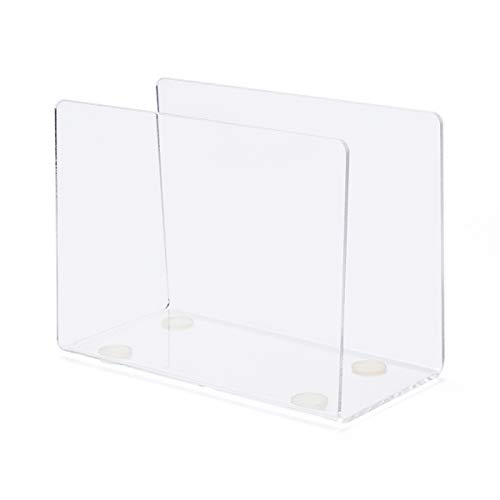 (U Shape Cocktail Napkin Holder,Acrylic Napkin Stand for Kitchen,Table -SupperAcrylic)