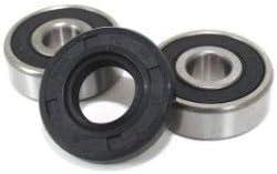 BossBearing Front Wheel Bearings and Seal Kit for Yamaha MX100 1974 1975 1976 1977 1978 1979