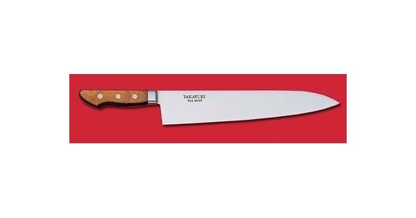 Amazon.com: SAKAI Takayuki japonés cuchillo tus Acero ...
