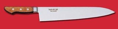 Sakai Takayuki Japanese Knife Tus High Carbon Stainless Steel 16612 Gyuto 210mm Chef's Knife by Sakai Takayuki