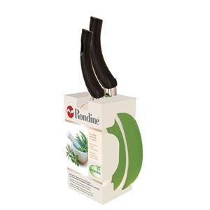 Bialetti Rondine bis de sartenes Light Cook 24 + 28 cm color verde