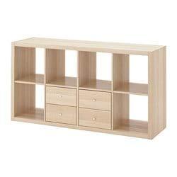 Ikea Kallax Etagere Meuble Tv Etagere Avec 2 Accessoires Effet